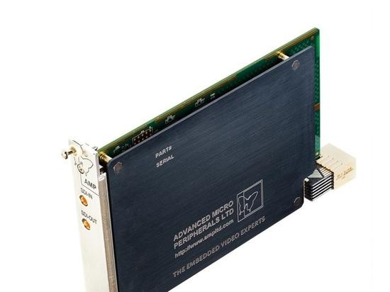 El amperio lanza el nuevo codificador video de H.264 HD-SDI para los sistemas seriales de CompactPCI