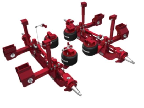 Hendrickson lanza la nuevos suspensión y Axle Solutions para la grúa del camión de Terex® T 110 en ConExpo