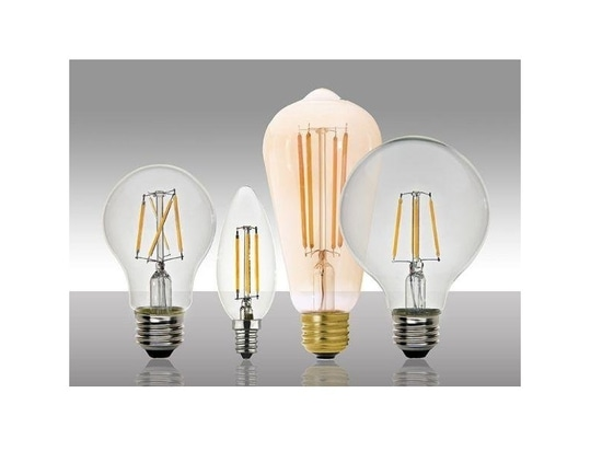 MaxLite lanza las lámparas de filamento del LED con la certificación de ENERGY STAR