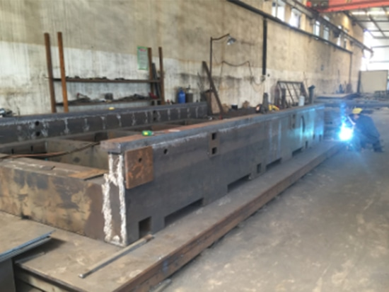 Entra HANS GS nuestra cadena de producción de la cortadora del laser