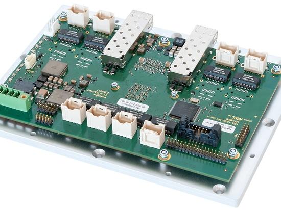 Interruptor manejado rugoso del capítulo abierto del gigabit 10-Port con 2 puertos de SFP+ 10Gbit