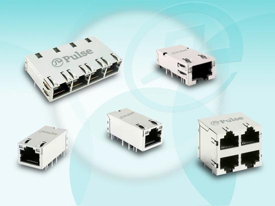 La electrónica del pulso anuncia Ethernet obediente ICMs de NBase-T
