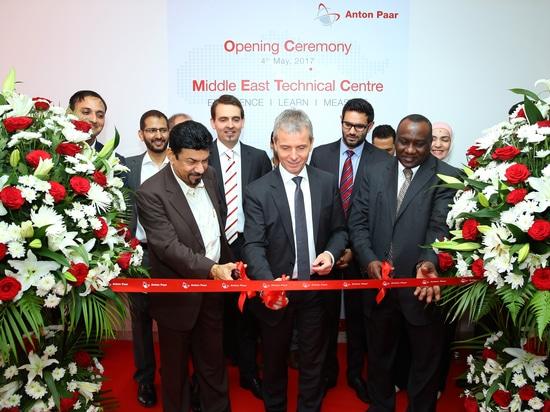 Anton Paar pone en marcha el centro técnico en Dubai