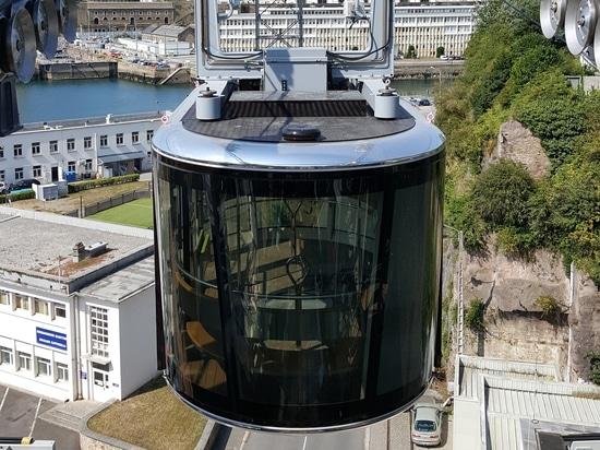 Leroy-Somer acciona el nuevo sistema de transporte del teleférico en Brest