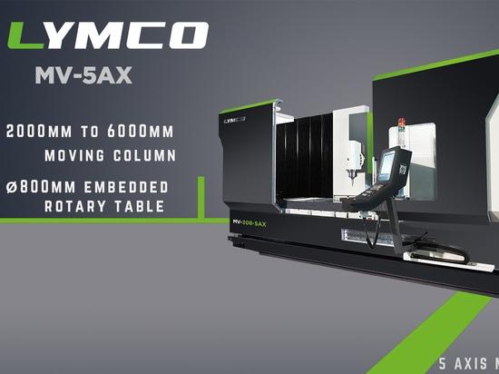 Aumente su eficacia con el centro que muele del eje de LYMCO 5