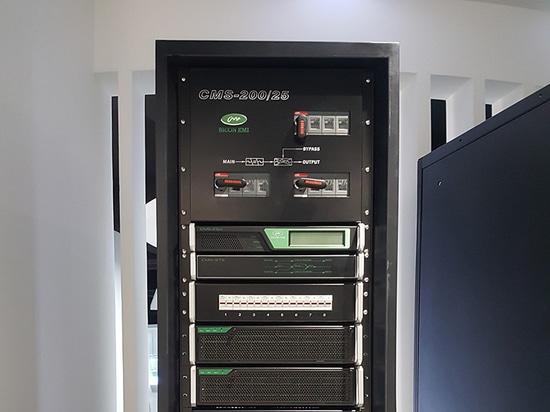 Sicon UPS modular instalado en grupo del gas de Pekín
