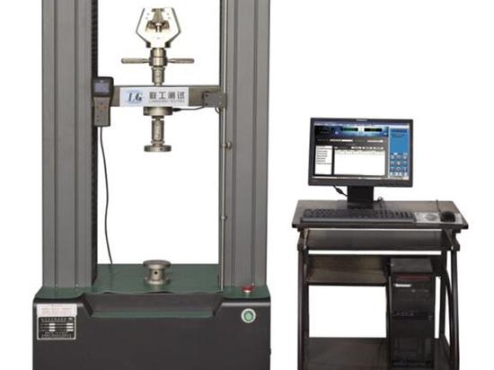 Máquina de prueba extensible electrónica de la columna doble