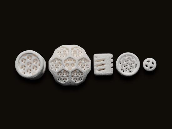 Partes de cerámica 3D-printed de Johnson Matthey