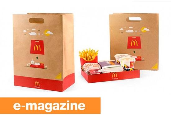 McDonald BagTray: El bolso para llevar que se convierte en una bandeja