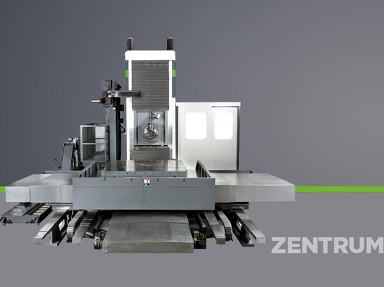 Nuevo taladro horizontal y fresadora de LYMCO