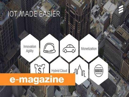 Ericsson Offers IoT como servicio