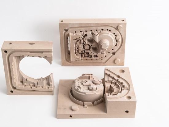 vivienda de la caja de cambios 3D-printed con corazones integrados