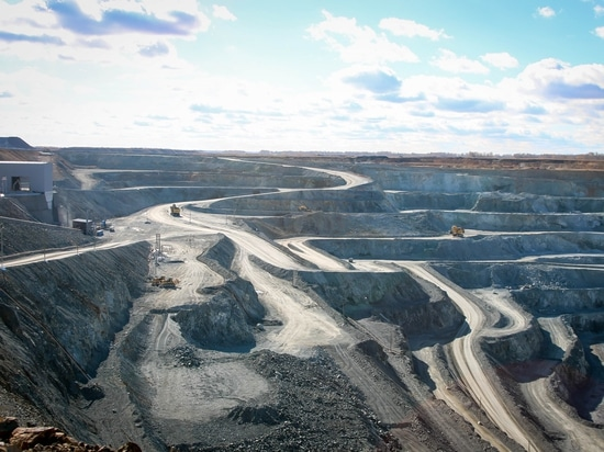 La instalación de la refinería del mineral