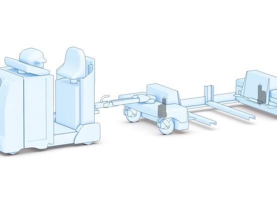 Usos de la manipulación de materiales como la ventaja de AGVs de los actuadores lineares elegantes