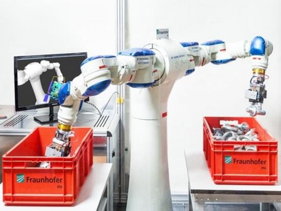 ¿Los robots elegantes controlarán la fabricación?