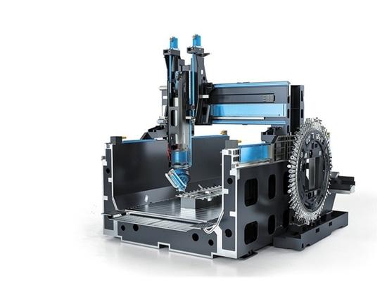 Pórtico-tipo centro de mecanización