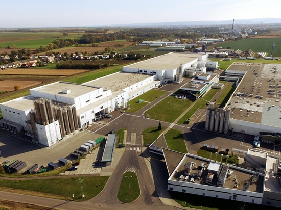 Extensión de la fábrica de la galleta de Mondelez International, Opava, República Checa