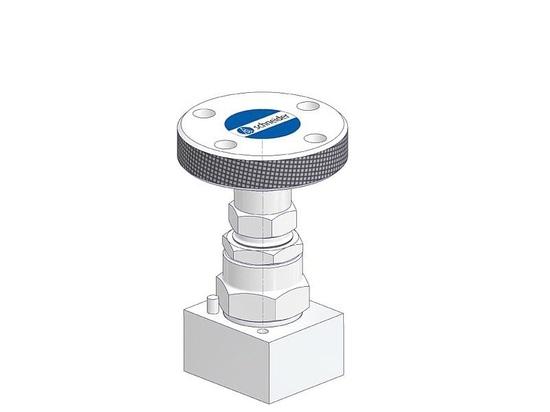 El nuevo mecanismo de bloqueo de la válvula de seguridad previene tratar de forzar desautorizado