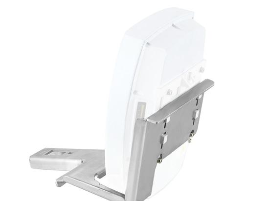 Nueva antena de plato de radio de la consola de montaje y del reflector