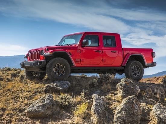 """El jeep revela al gladiador muy esperado: """"La mayoría de la recogida de tamaño mediano capaz nunca"""""""