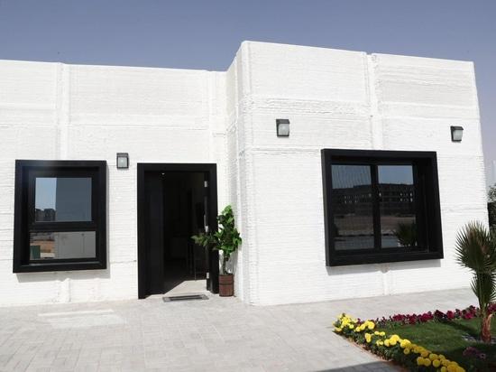 La Arabia Saudita 3D imprime una casa en dos días