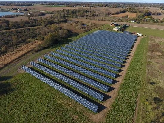Éxito solar de la instalación en Michigan