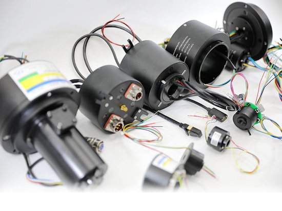 Montajes del anillo colectando para las antenas de radar