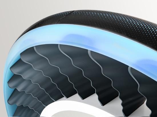 El Goodyear AERO- – un neumático del concepto para los coches autónomos, que vuelan