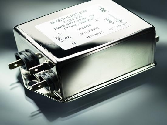 El filtro EMI llega a las aplicaciones monofásicas de 277-Vac/400-Vdc