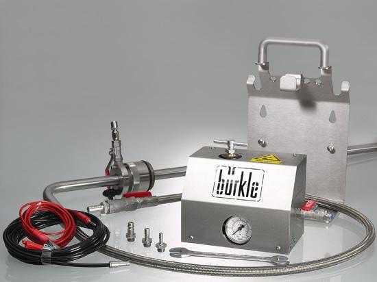 Sistema de extracción de disolventes, volumen de suministro