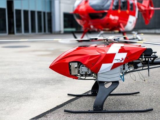 Conferencia Anual de Prensa 2019: El nuevo avión teledirigido Rega vuela y busca de forma autónoma