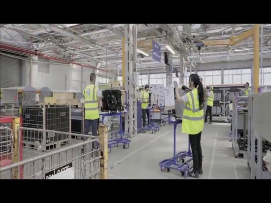 Peugeot ha elegido AGV INDEVA® por su líneas de ensamblaje