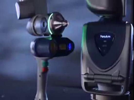 Brazo de medición de Scanarm HD del borde de FARO: Vídeo del producto