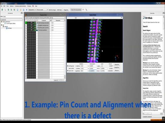 Pin Inspection - vídeo