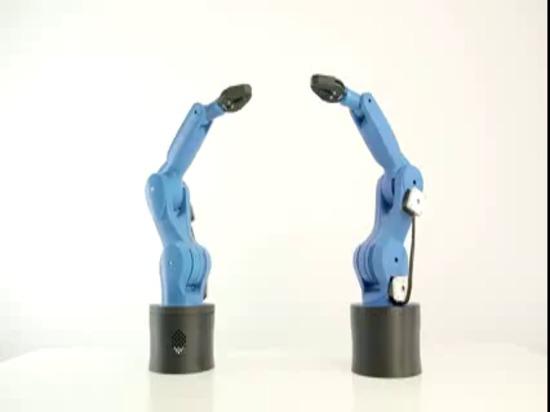 Impresora de Zortrax M200 3D - 3D imprimió los robots de baile