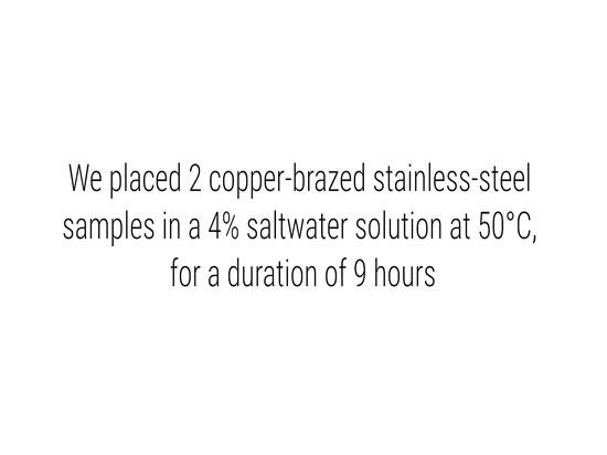 Sealix proporciona protección superficial contra la corrosión