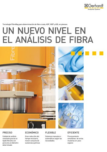 FIBRETHERM® - Un nuevo nivel en el análisis de fibra
