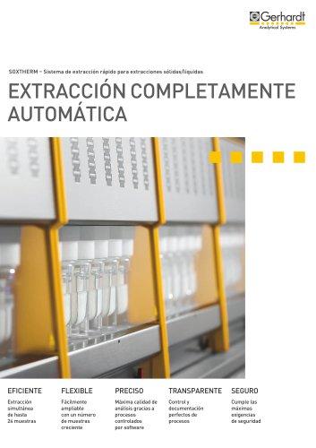 SOXTHERM® - Extracción completamente automática