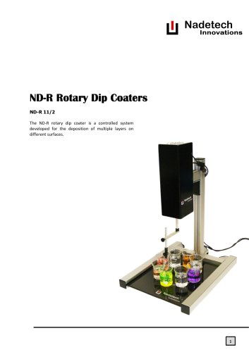 ND-R Rotary Dip Coater
