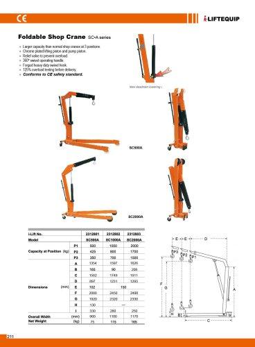 i-Lift/Hu-Lift Shop Crane SA