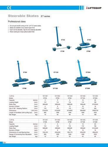 i-Lift/Hu-Lift Steerable Skate ET
