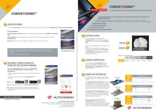 Conveyxonic® (Presentación del producto Conveyxonic® y de sus características técnicas)