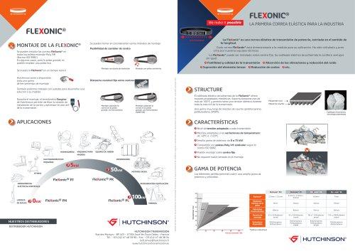 Correa Flexonic Hutchinson, la primera correa elástica para la industria (Presentación del producto Flexonic y de sus características técnicas)