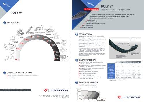 POLY V®, la correa de todas las industrias