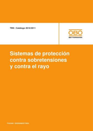 TBS Sistemas de protección contra sobretensiones y contra el rayo