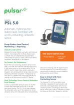 PSL 5.0 Hybrid Pump Station Level Controller
