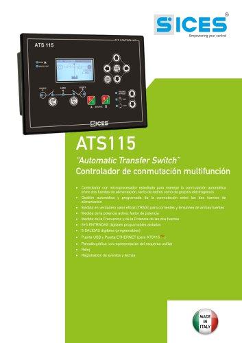ATS115 - Controlador de conmutación multifunción