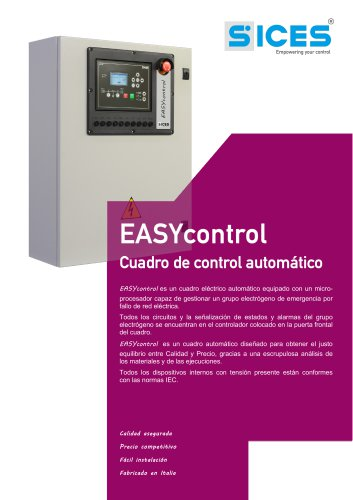 EASYCONTROL - Cuadro automatico