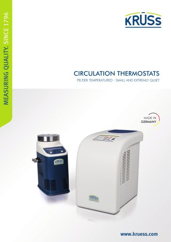 Peltier thermostat from A. KRÜSS Optronic