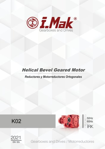 Helical Gear Units (IR Series)